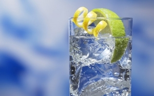 Алкогольный напиток джин-тоник