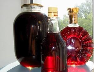 Настойка в бутылках