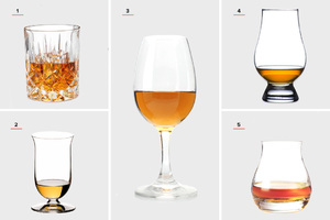 Посуда для питья виски