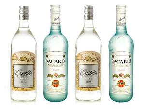 Bacardi Castillo Spiced Rum: описание